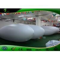 Buy cheap 4m Long Customized RC Inflatable Blimp / Remote Control Inflatable Airship With PVC from wholesalers