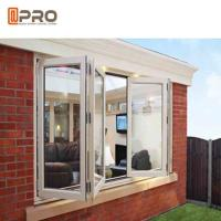 Buy cheap Double Glazing Vertical Bifold Window , Anodized Aluminium Windows from wholesalers