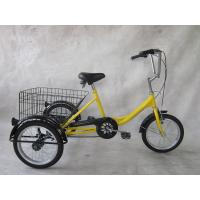 Buy cheap 16 Single speed steel tricycle from wholesalers