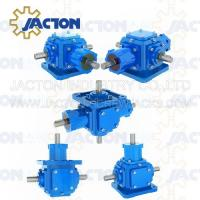 Buy cheap JT25 Spiral Bevel Gearbox Right Angle 25MM 1 Inch Drive Shafts Transmission Ratio 1:1, 2:1 from wholesalers
