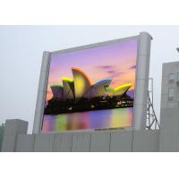 Buy cheap Waterproof Outdoor Big Screen Led TV HD Led Display With Pixel Pitch 10mm RGB from wholesalers