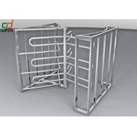 Buy cheap Full Height Turnstile Security Systems, Double Way Access Control Turnstiles Gate from wholesalers