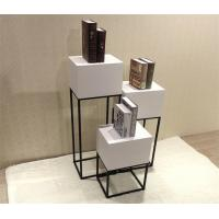 Buy cheap Simple Style Shop Window Display Shelves / Window Display Rack With Metal Frame from wholesalers