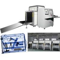 Buy cheap Tunnel Metal Detector X Ray Luggage Inspection Equipment With Conveyor Belt from wholesalers