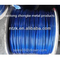 Buy cheap 6*19 pvc coated steel wire rope,zinc coated wire rope from wholesalers