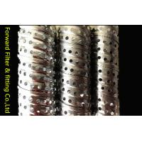Buy cheap Round Corrugated Metal Perforated Steel Tubing Locking Seam Filter Core from wholesalers
