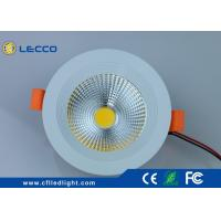 Buy cheap 30 000H LED Recessed  Downlight 10W 1000LM Fan Type COB Light Source 30 000H  CRI > 80 300 LM from wholesalers