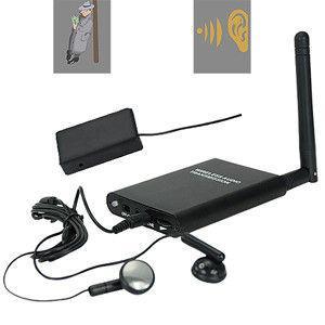 Buy cheap 300M Wireless Transmission Hardline RF Audio Spy GSM Listening Bug product