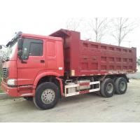 Dump Truck 3 Axles : Axle dump truck heavy duty front lifting with