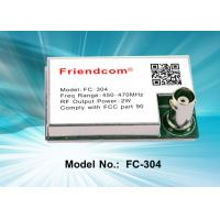 Buy cheap 2W Low Cost UHF / VHF High Reliability Radio Module Embedded Wireless Modules from wholesalers