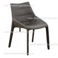Buy cheap Removable Cover Injected Sponge 82CM 60CM Stainless Steel Dining Chairs from wholesalers