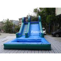 Buy cheap Kids and Adults Large 0.55mm PVC Tarpaulin Inflatable Slide Games from wholesalers
