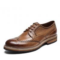 Buy cheap Genuine Leather Men'S Wedding Dress Shoes Handmade Mens Casual Leather Shoes from wholesalers