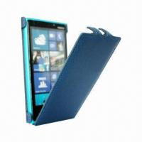 Buy cheap Leather Mobile Case for Nokia Lumia 920 Case, Flip Fitting Case from wholesalers