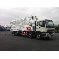 Buy cheap 8x4 SSAB Steel ISUZU 47m Truck Mounted Concrete Pump / Delivery Equipment 390HP product