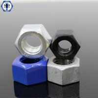 Buy cheap ASTM A194 2H/2HM/Gr.8 Heavy Hex Nuts Black Finish from wholesalers