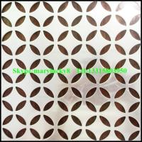 Buy cheap Aluminum perforated sheet/perforated sheet manufactures/perforated aluminum sheet from wholesalers