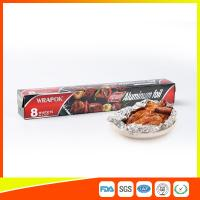 Buy cheap Aluminium Paper Backed Foil For Food Packaging , Aluminum Wrapping Paper product