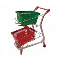 Buy cheap Fashion shopping basket trolleys from wholesalers
