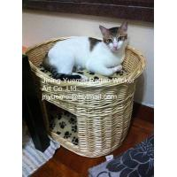 Buy cheap wicker pet basket willow pet basket wicker dog bed wicker dog house kennels Christmas for from wholesalers