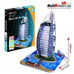 Buy cheap Buildream DIY 3D Puzzle---Burj Al Arab (Dubai)  (BD-B012) from wholesalers