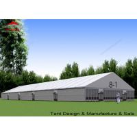 Buy cheap Large Outside Tents Aluminum A Frame Structure With Glass Walls product