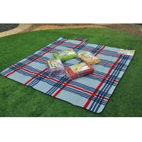 Buy cheap Scottish Blue Check Pattern Printed washable Picnic Blanket , camping sleeping mats from wholesalers