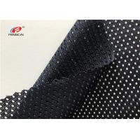 Buy cheap 145CM Width Bmw Windows Polyester Netting Mesh Fabric Upholstery In Black from wholesalers