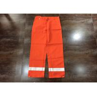 Buy cheap Orange Flame Resistant High Visibility Clothing For Men Heat Insulated from wholesalers