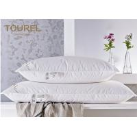 Buy cheap Quality Miracle Bamboo Fiber Square Hotel Pillows For Stomach Side Sleepers from wholesalers
