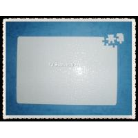 Buy cheap Heat transfer puzzle/sublimation A4 blank jigsaw puzzle 120pcs from wholesalers