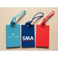Buy cheap Custom Logo Blue Red Soft Silicone Card Holder Wallet / Card Pouch With String For Safety Protect Cards from wholesalers