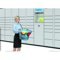 Buy cheap Semi Outdoor Smart IC Card Reader The Cleaning Locker For Commercial Laundry Services from wholesalers