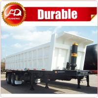 Buy cheap China Best Quality Tipper Cargo Truck 3 Axle Dump Semi Trailer For Export Sale from wholesalers