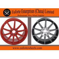 Susha wheels 1-piece Red Forged car Wheel rims 18 inch to 20 inch Replica Wheels