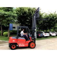 Buy cheap Anti Slip 3 Stage Mast Forklift , High Reach Forklift Diesel XinChai Engine from wholesalers