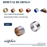 Buy cheap Durable CuSn6Zn6Pb3 Bimetal Bearing Bushes , Metric Size - Imperial Size from wholesalers