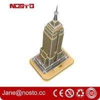 Quality 3D Building Puzzle for Empire State Building Construction Model and Set for sale