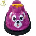 Buy cheap Hansel amusement park game machine plastic indoor plastic bumper car from wholesalers