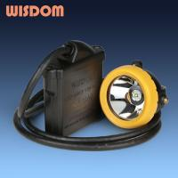 Buy cheap KL8M is WISDOM  Corded led miners cap lamp from wholesalers