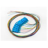 Buy cheap Single Mode 10G Patch Cord , 900UM Wave Length SC UPC Patch Cord 12 Colors from wholesalers