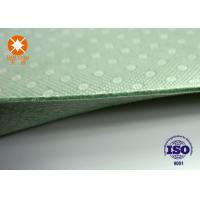 Buy cheap Laminated Nonwoven Fabric Needle Punched Felt Backing With PVC Dots 4m Width from wholesalers