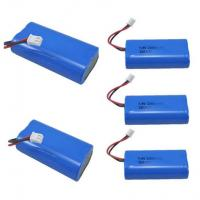 China 7.4V 2600mAh Mobile Warming Battery For Heated Jackets / Vests , 1C Discharge Rate on sale