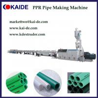 Buy cheap PPR Pipe Making Machine 20mm-63mm with the highest speed in China from wholesalers