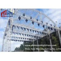 Buy cheap Arch Shape Aluminum Stage Truss , Outdoor Truss Structure Truss Display Systems product