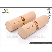 Buy cheap Handmade Cardboard Mailing Tubes , Custom Printed Shipping Tubes Cylinder Shape from wholesalers
