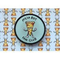 Buy cheap Cute Club Embroidered Logo Patches , Collectible Custom Embroidered Badges from wholesalers