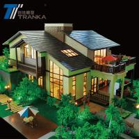 Buy cheap Beautiful miniature building model , architectural house model from wholesalers