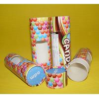 Buy cheap Custom Moisture-proof Cylinder Cardboard / Paper Tubes for Food, Candy, Chocolate Packing from wholesalers