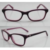 Buy cheap Hand Made Acetate Kids Eyeglasses Frames to Children Protect Eyes from wholesalers